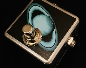 Saturnworks Momentary OR Latching Micro Kill Mute Switch Guitar Pedal -- Handcrafted in California