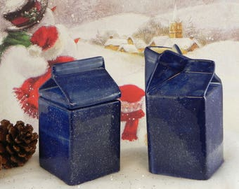 hand painted ceramic sugar and creamer set