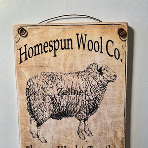 Hand Spun Wool 1804  Art adhered to wood and ready to display   Two sizes  5/'/'x7/'/' or 8/'/' x 10/'/'  Photo gifts make perfect  presents