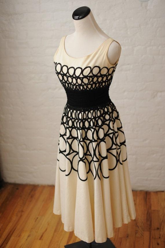 Audrey Hepburn 1950s Dress