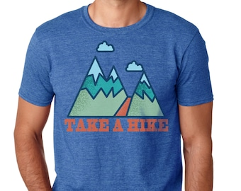 Hiking Shirts | Hiking Tshirt | Camping Shirt  | Graphic Tee | mens tshirt | Mountain T-shirt | Mountain Shirt | gift for him