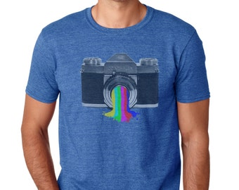 Photographer Gift | Photographer Shirt | Camera T shirt | Photography Shirt | Graphic Tee | Men's Tshirt | vintage camera shirt | tshirts