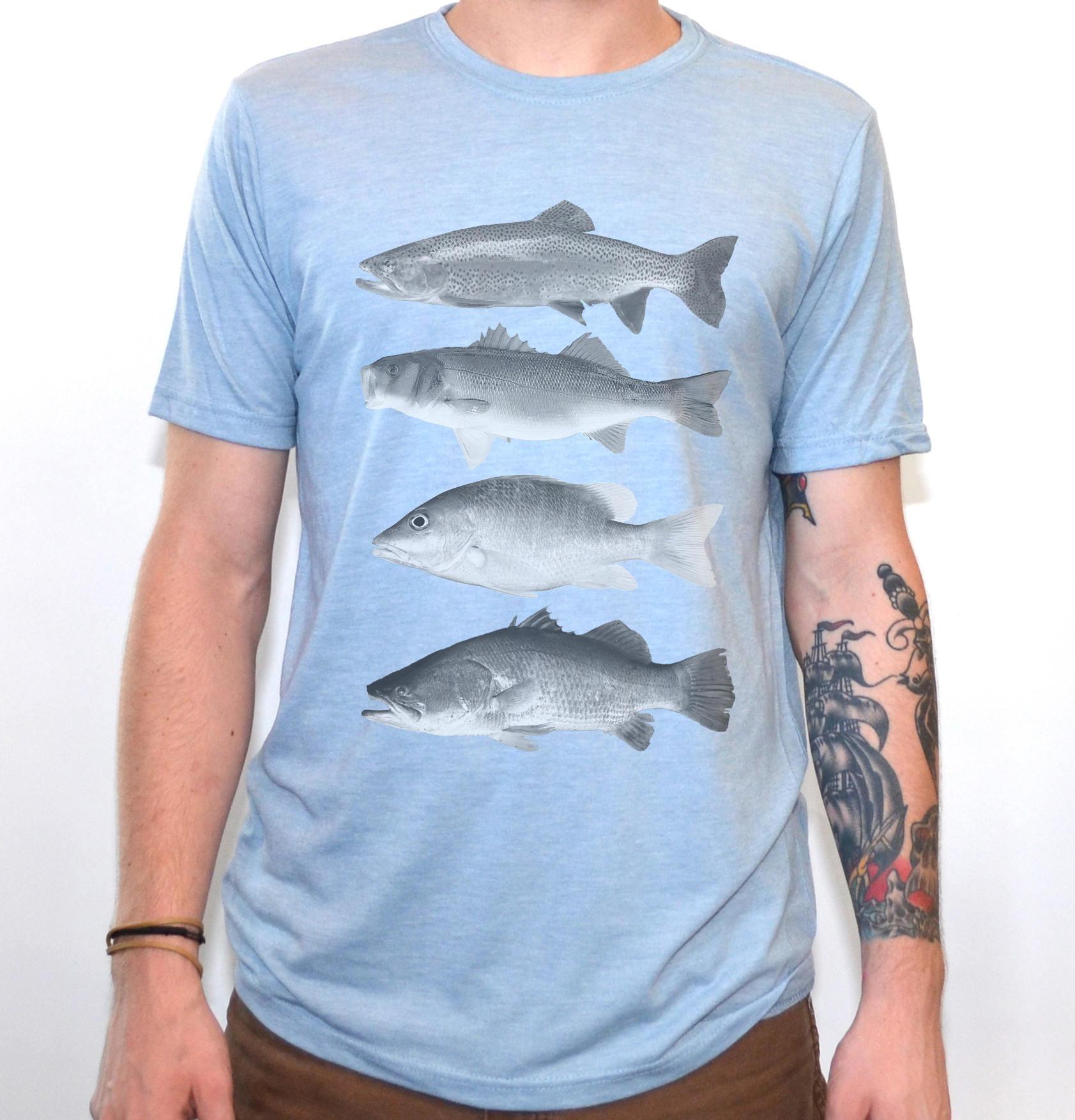 Angeln-Shirt Fisch-t-Shirt Herren-Grafik-T-Shirts | Etsy