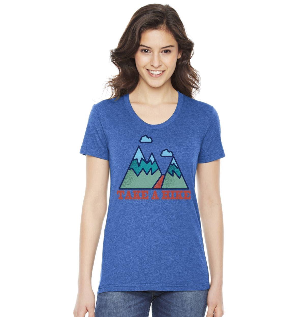 Wandern-t-Shirt Damen-T-Shirts Nehmen Sie eine Wanderung   Etsy