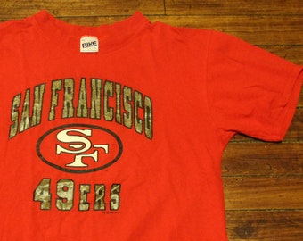 San Francisco 49ers shirt vintage 1993 NFL football graphic tee tshirt XL ce44d2297