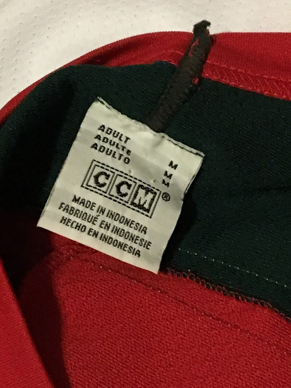 vintage Minnesota Wild colorway blank NHL hockey jersey CCM  b2dbb46d1