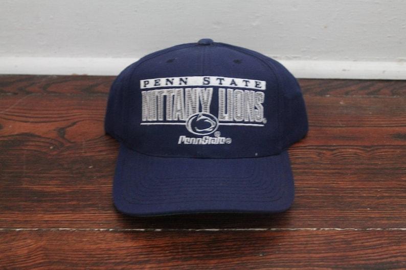 new product 605ba f7425 Penn State Nittany Lions Snapback vintage ballcap hat sports   Etsy