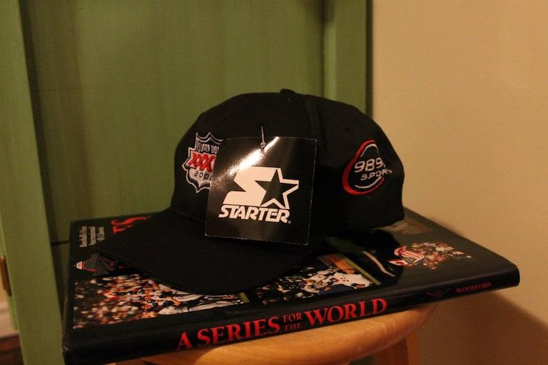 45523dfbf Deadstock Starter snapback hat super bowl NFL football cap   Etsy