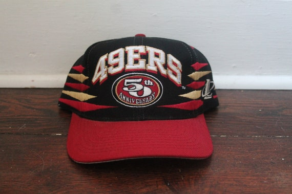 5b5429c5fa27a San Francisco 49ers snapback vintage wings 50th anniversary