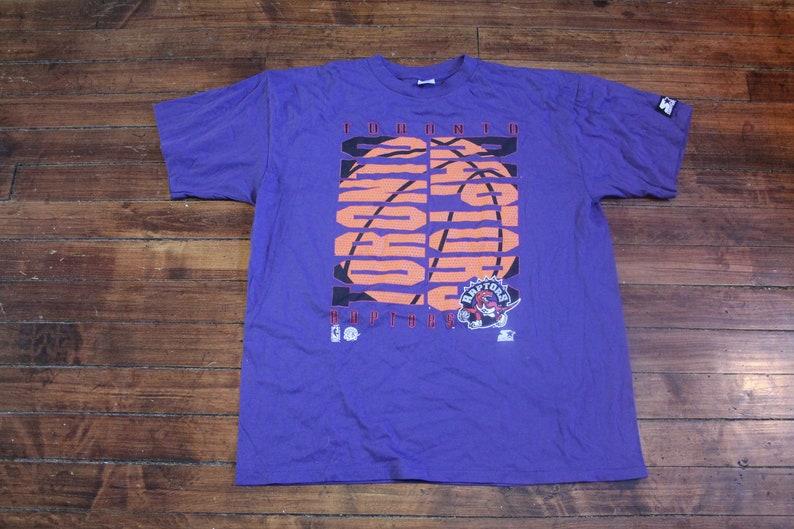 048215b0c7d Toronto Raptors shirt vtg NBA basketball vintage starter | Etsy