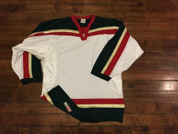 vintage Minnesota Wild colorway blank NHL hockey jersey CCM medium f626fe625