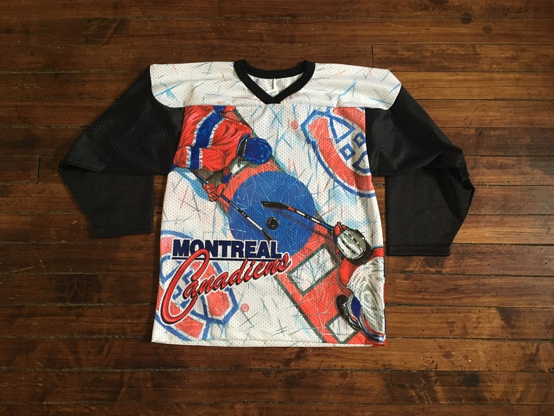 60cd41922 Montreal Canadians CCM jersey animated confetti NHL hockey | Etsy