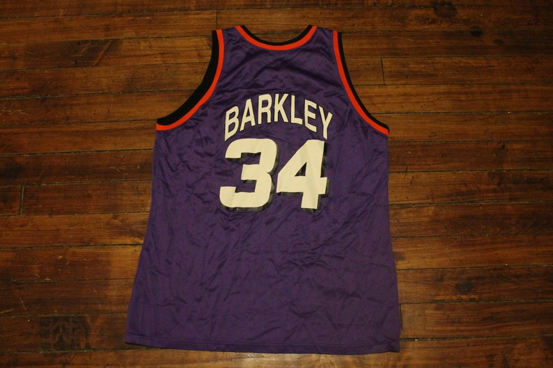 73d30fe0ab4 Phoenix Suns jersey vtg NBA Basketball champion Charles