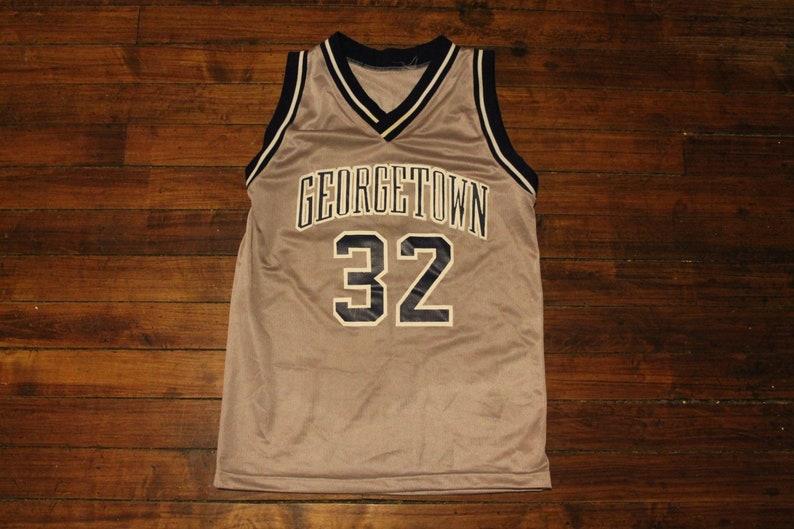 1b92384517f8 Georgetown Hoyas jersey NCAA basketball vintage jersey small