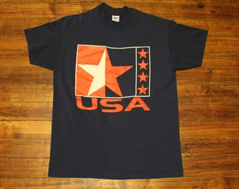 Team America USA olympics 1980s dream team shirt tshirt
