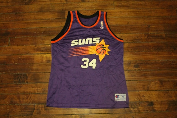 e6135f351ad Phoenix Suns jersey vtg NBA Basketball champion Charles | Etsy