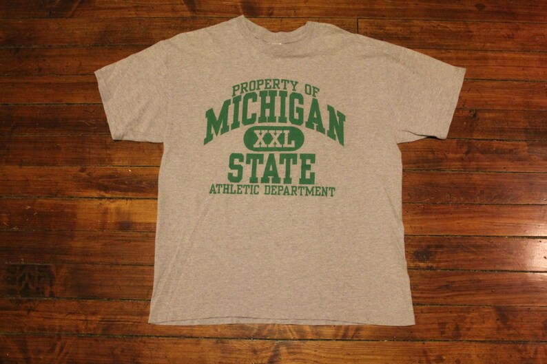 adfa534c5bbb Michigan State Spartans Athletic department gym tshirt NCAA