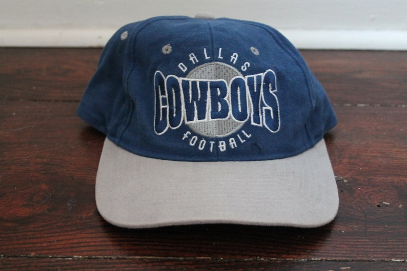 48bcf606caf Dallas Cowboys starter hat vtg NFL football snapback blue