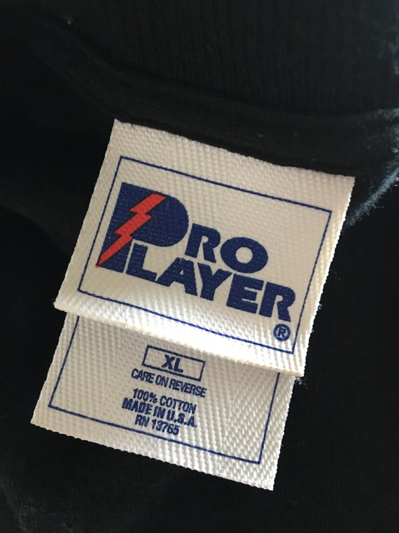 Philadelphia Flyers shirt vtg NHL hockey stitched tshirt black  ba8604ea9