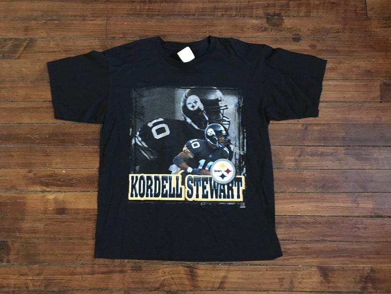 bc9868e8 Pittsburgh Steelers tshirt deadstock Starter Kordell Stewart | Etsy