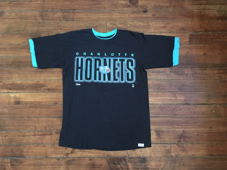 f5e4ff9703d Charlotte Hornets shirt NBA basketball graphic tee tshirt | Etsy
