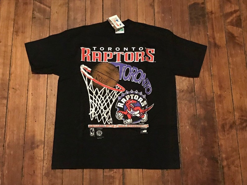 356b35197b2 Toronto Raptors shirt deadstock vintage NBA basketball hoop | Etsy