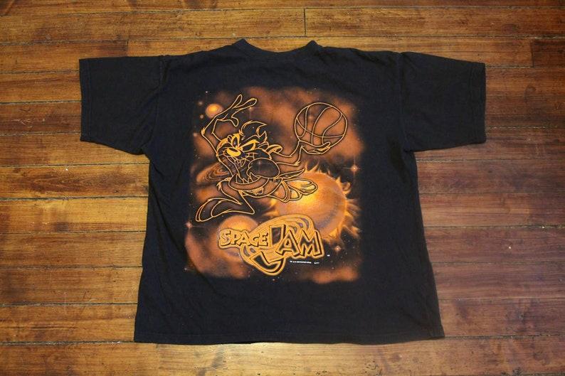 caee8b22b1b94f Space Jam shirt michael jordan tshirt 1996 vintage looney