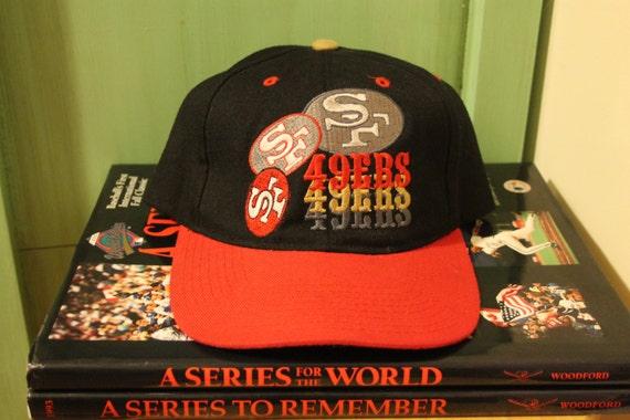 San Francisco 49ers snapback hat ballcap NFL football pro  8874b27f2