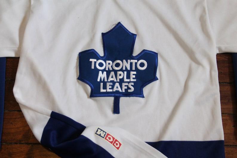 Toronto Maple Leafs jersey vtg NHL hockey vintage CCM jersey  7bde91bd9