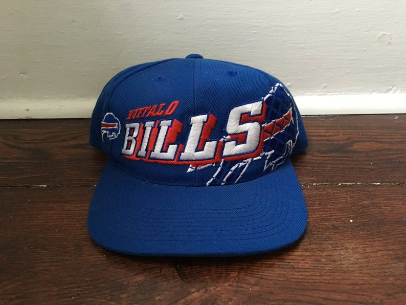2d61879f52a9b Buffalo Bills snapback shadow hat NFL football vintage ballcap