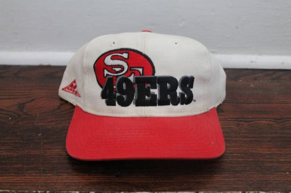 San Francisco 49ers snapback vintage cream hat NFL football  5390b7ce7