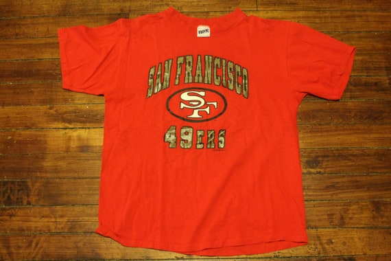 San Francisco 49ers shirt vintage 1993 NFL football graphic  d91354058