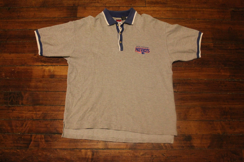New England Patriots Polo golf shirt vintage NFL football 1997  fa6788c4e