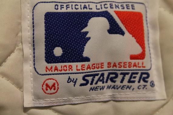 Philadelphia Phillies starter jacket vtg MLB Baseball 1980s authentic vintage satin jacket medium