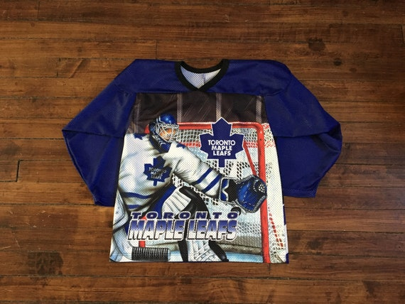 Toronto Maple Leafs CCM jersey goalie animated NHL hockey  dc4377dc1