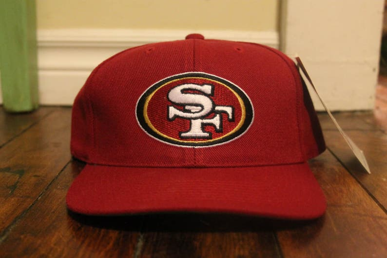 3903d30a4 San Francisco 49ers fitted fullback hat cap NFL football | Etsy
