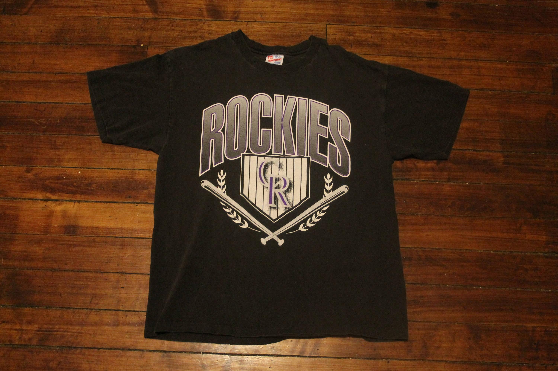 b2e6505257d Colorado Rockies shirt vintage MLB baseball tshirt graphic tee