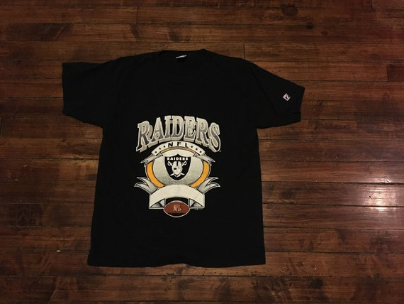 Oakland Raiders shirt 1992 NFL football LA Los Angeles Raiders  26b9c642f