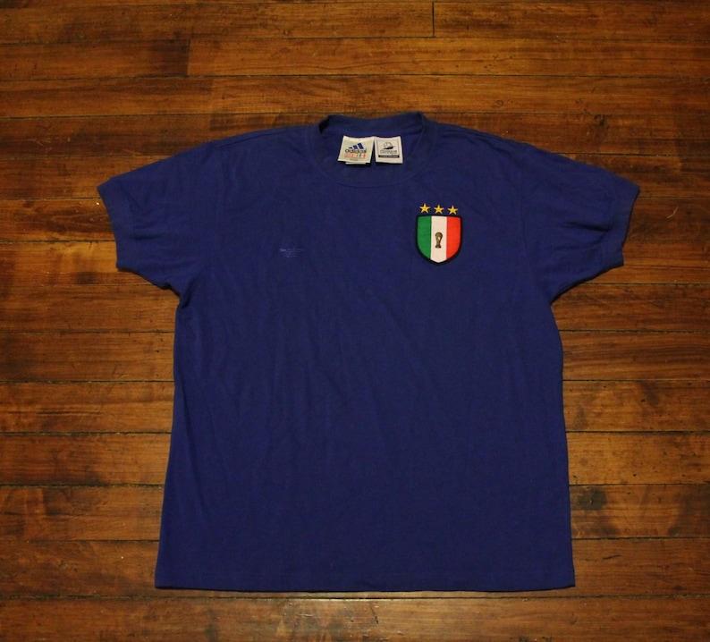 c2bf42c7dc1 Adidas Italy shirt World Cup France 98 Azzurri Italia tshirt