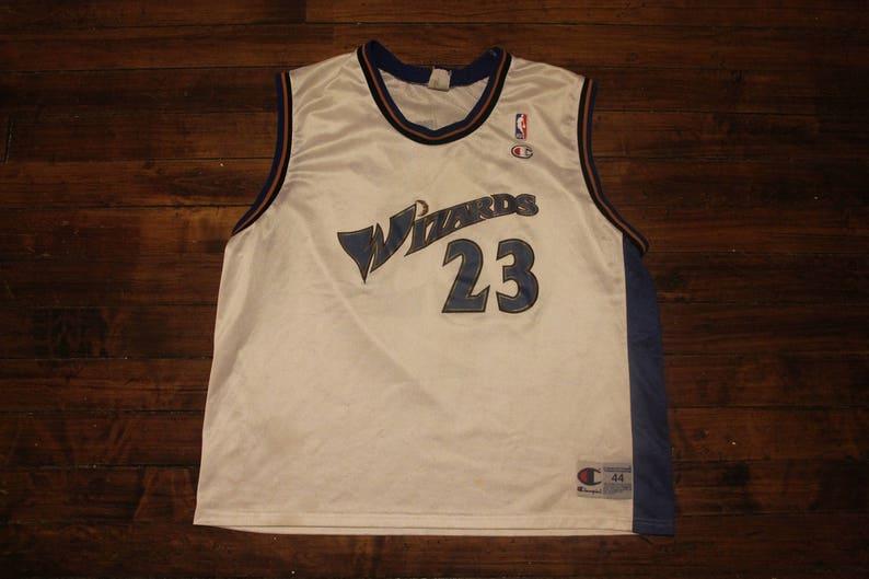 906fb682f08 Washington Wizards Champion Jersey Michael Jordan 23 NBA | Etsy