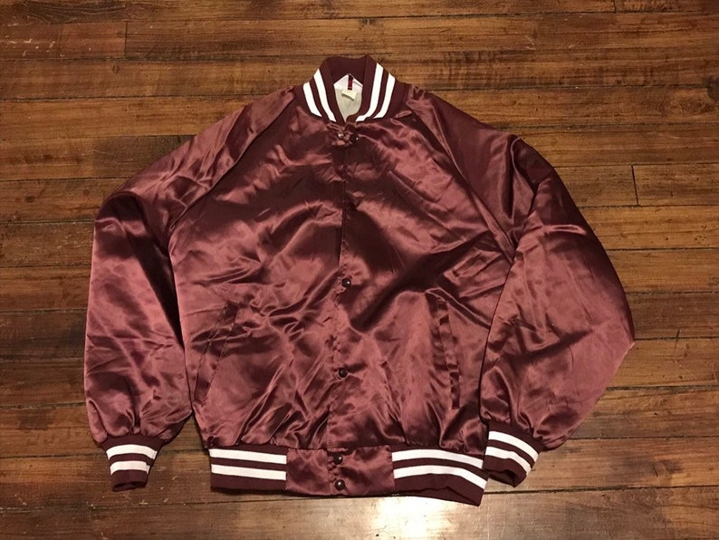 c192b0b7c8e Baseball satin smoking jacket maroon Philadelphia Phillies
