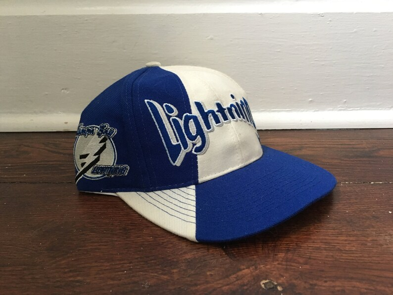 98a370abd Tampa Bay Lightning snapback vintage NHL hockey hat ballcap | Etsy
