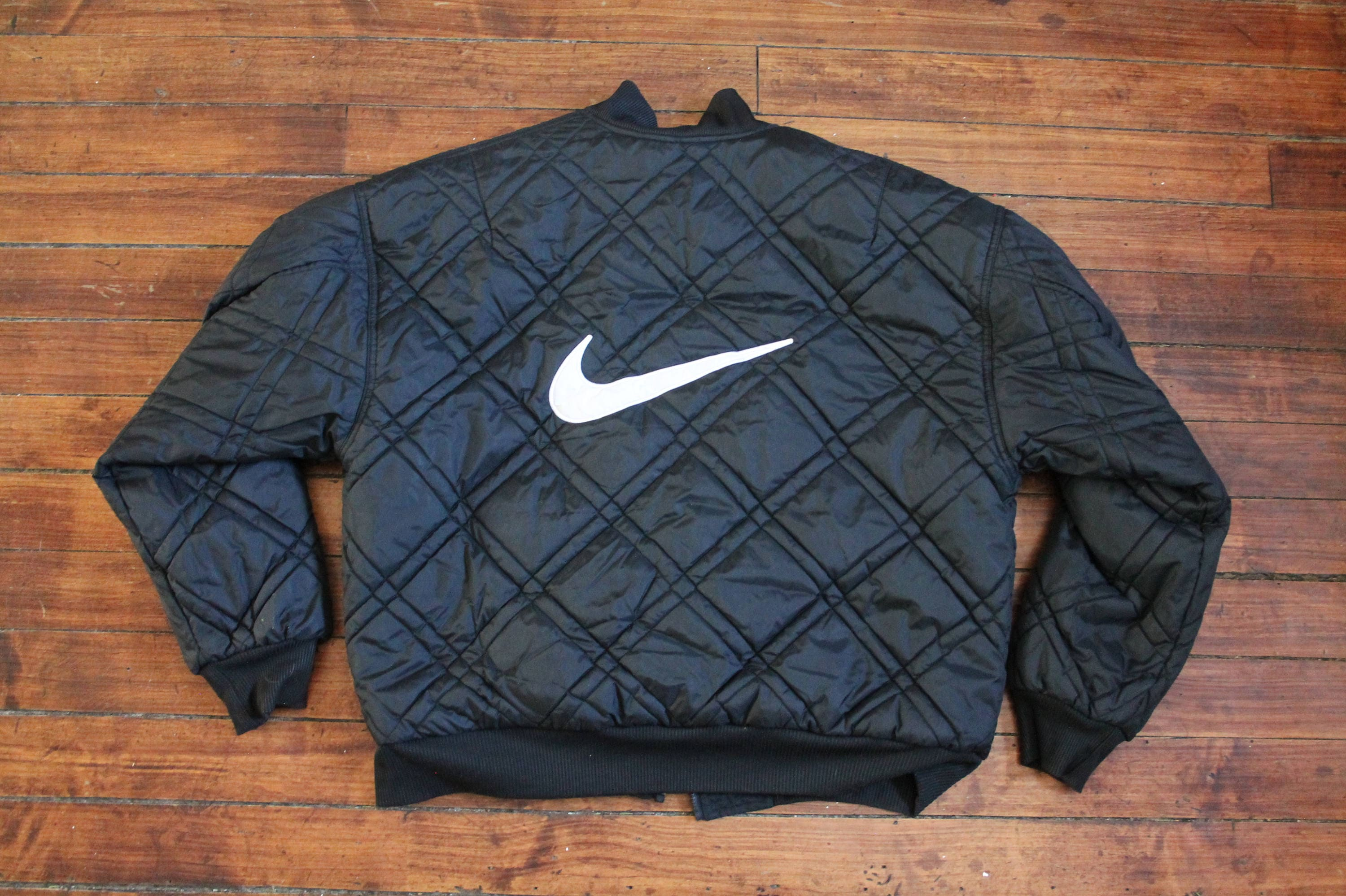 15927202dc33 Nike Winter jacket Reversible puffer coat quilted vintage mens