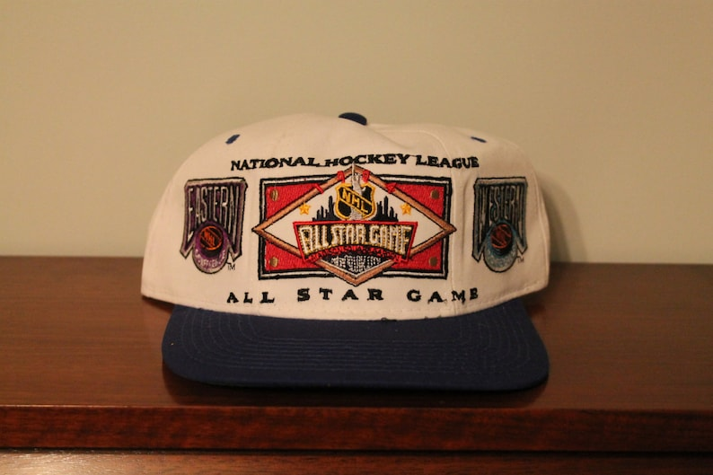 b554a42371577 1994 NHL All Star Game snapback hat vintage deadstock