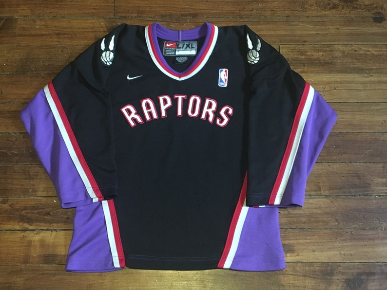 9d4cd5e72 Toronto Raptors Nike hockey Jersey NBA basketball team vince