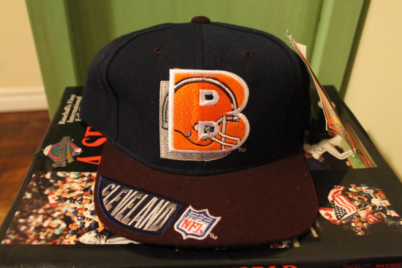 a4de342fabe Deadstock Cleveland Browns Snapback NFL shadow backscript