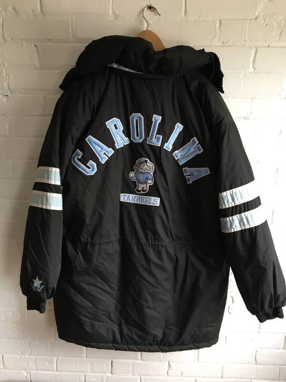 DEADSTOCK North Carolina Tar Heels winter jacket streetwear  9d3bf12b6043