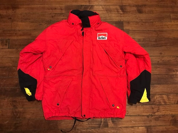 Marlboro red winter jacket vintage warm marlboro c