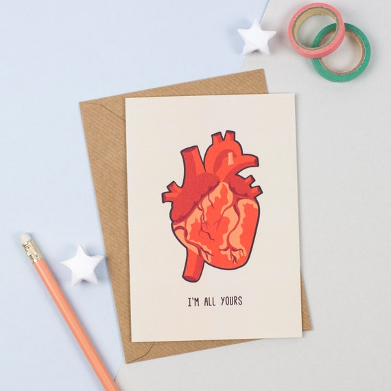 Anatomical Heart Card