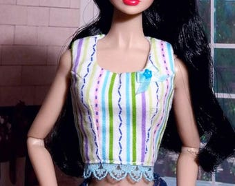 Top for Poppy Parker doll, Dynamite girls